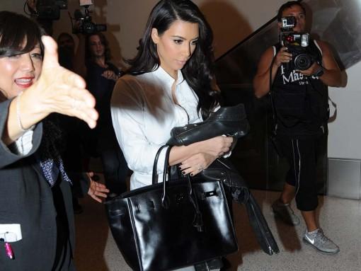 Kim Kardashian Hermes So Black Birkin