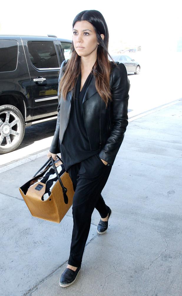 Kourtney Kardashian Celine Knot Tote-4