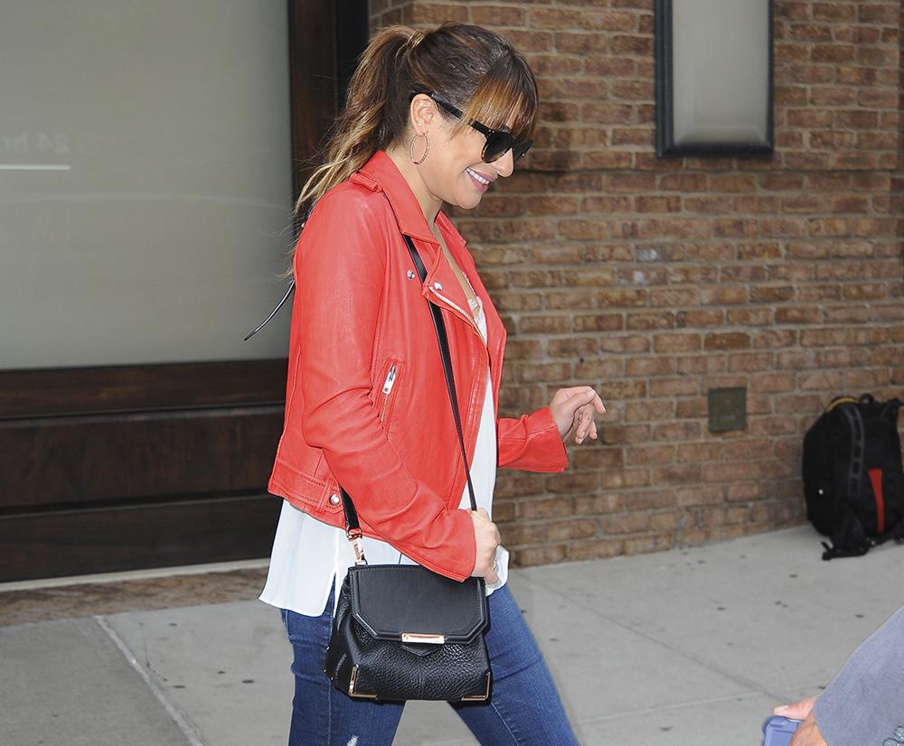 Lea Michele Alexander Wang Marion Bag
