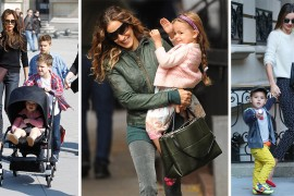 Many Bags of Celebrity Moms