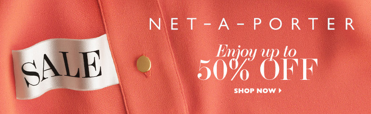 The Net A Porter webstore is filled with all sorts of deals and discounts for you to avail! Apart from the seasonal sales such as the Net A Porter Black Friday sale, there is always a Net A Porter sale which is running on the webstore from time to time. There are also chances that you will find a Net A Porter Coupon Code available on the website.