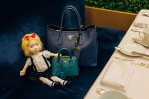 Mother Daughter Pairs: Prada Bags