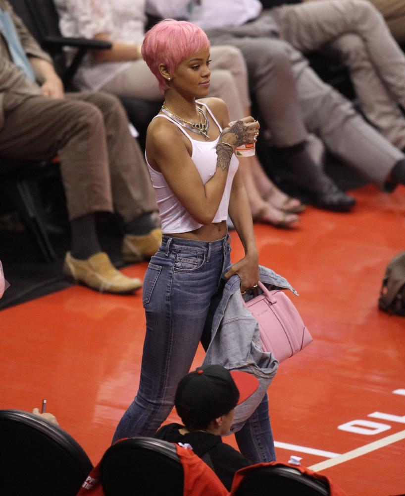 Rihanna Givenchy Lucrezia Bag 1