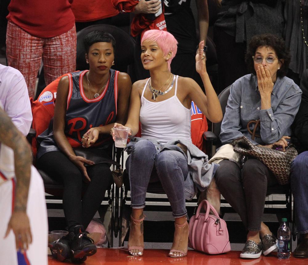 Rihanna Givenchy Lucrezia Bag 4
