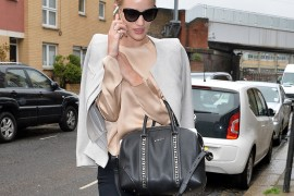 Fresh from Cannes, Rosie Huntington-Whiteley Carries Givenchy