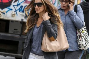 Sarah Jessica Parker Strolls NYC With a Bag From Her Own Label