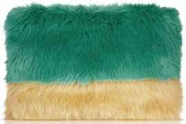 Fill in the Blank: The Shrimps Faux Fur Clutch is…