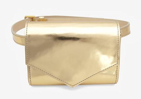 Sonia Rykiel Metallic Belt Bag