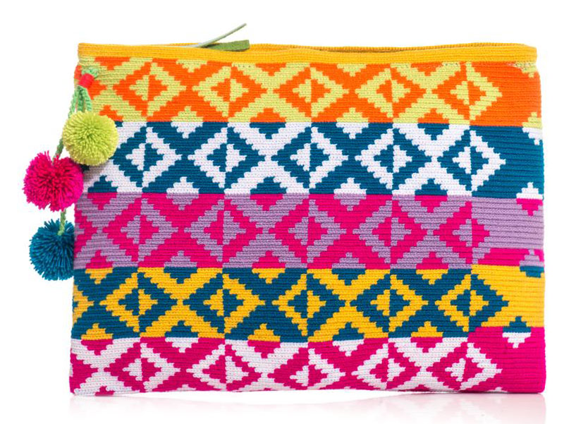 Sophie Anderson Marilu Woven Clutch