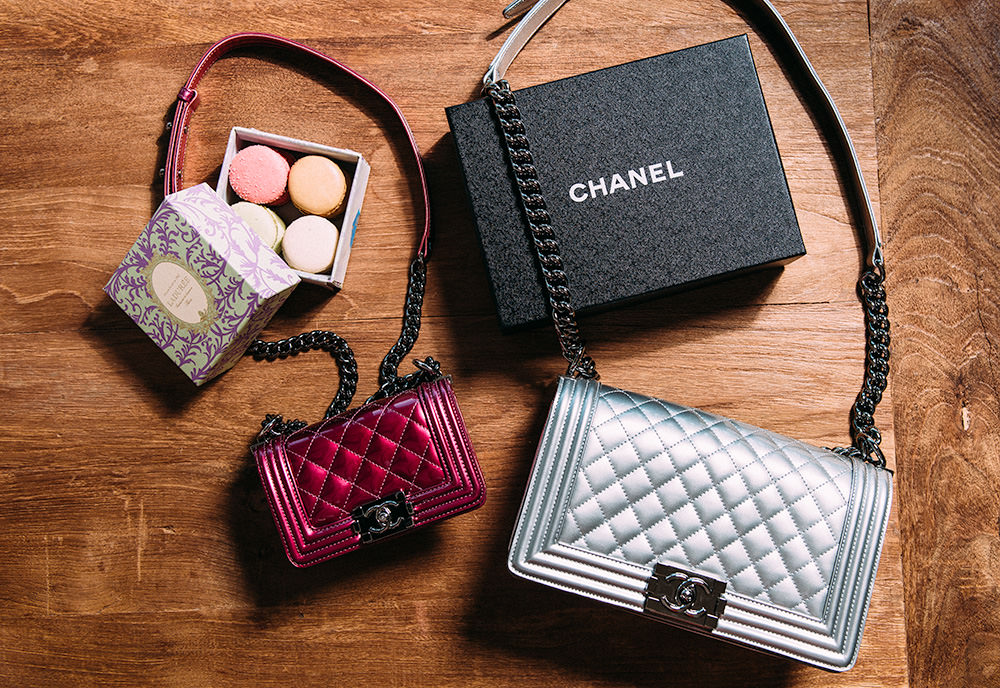 Chanel Boy Bags for Mother's Day