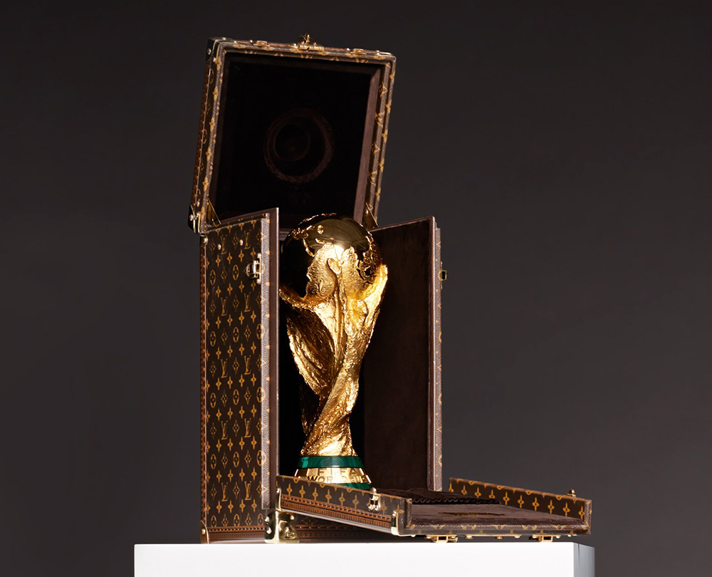 2014 World Cup Louis Vuitton Trophy Case