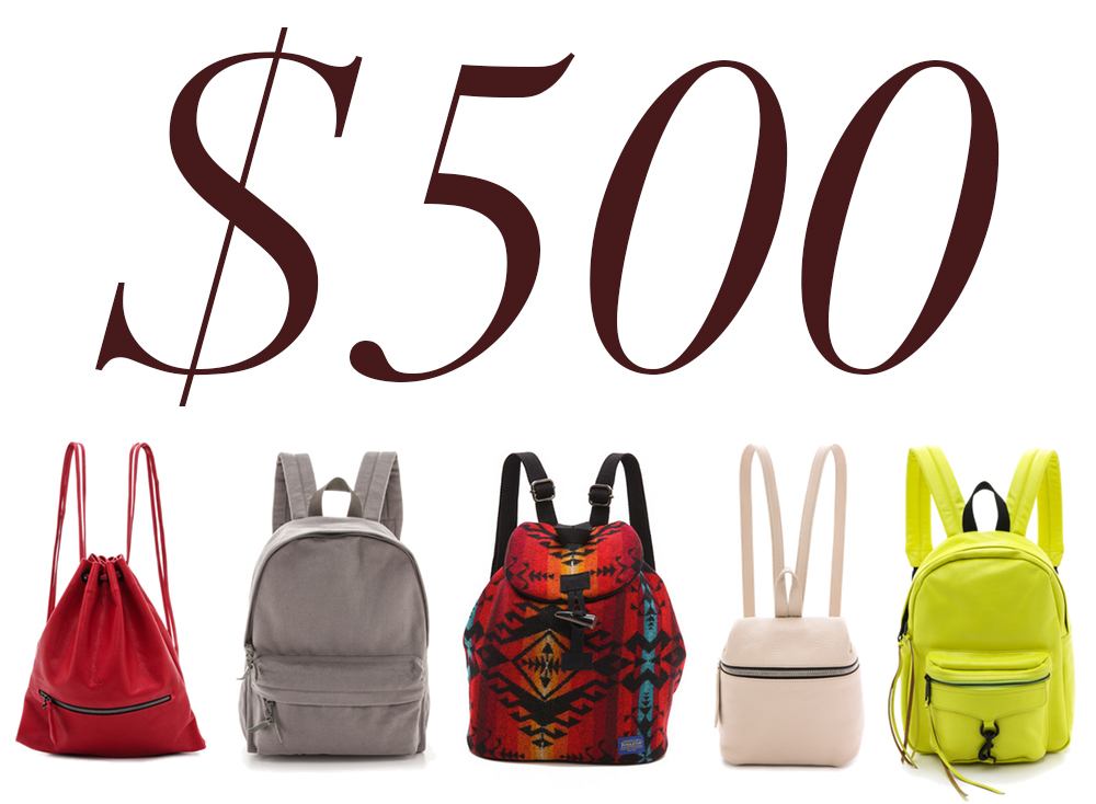 5 Under 500 Backpacks