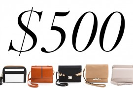 5 Under $500: Work-Appropriate Shoulder Bags