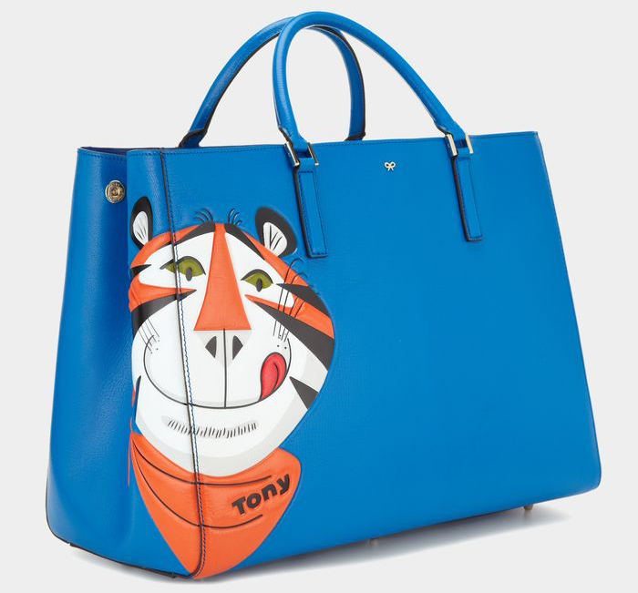 Anya Hindmarch Ebury Featherweight Frosties Tote