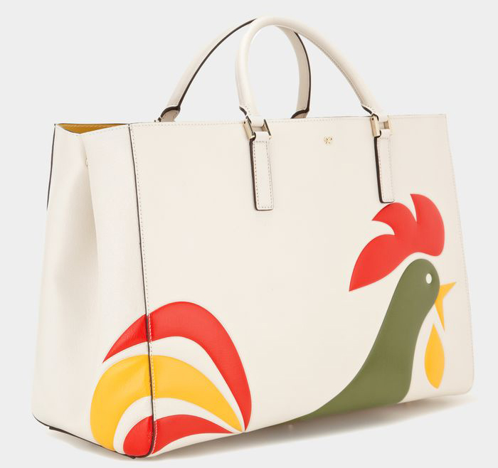 Anya Hindmarch Ebury Maxi Featherweight Cornflakes Tote