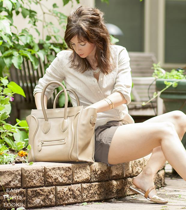 Celine Luggage Tote Street Style