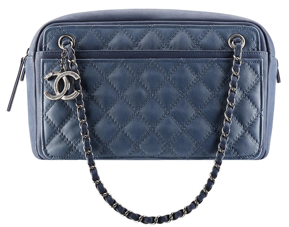 Chanel Calfskin Camera Case