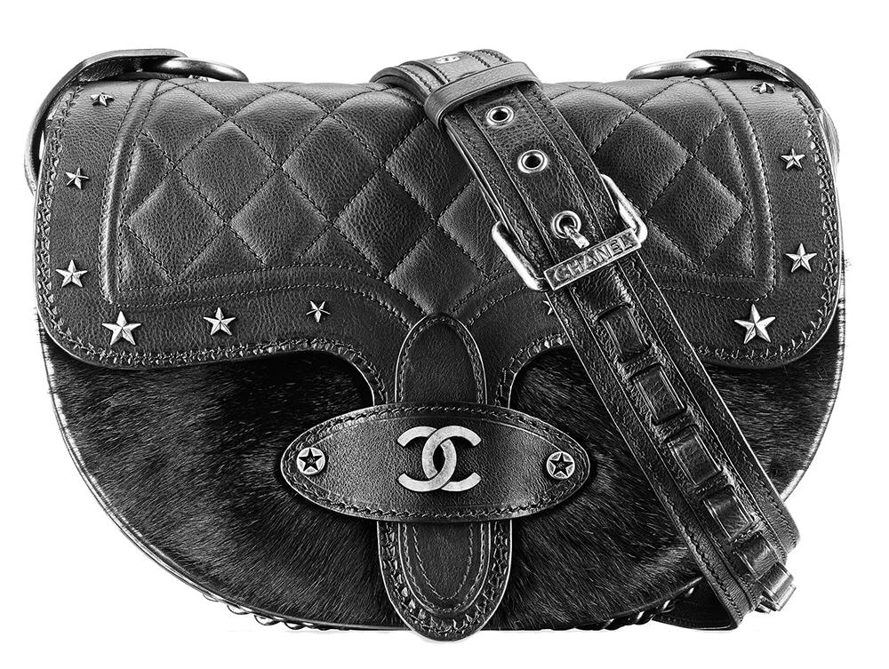 Chanel Star Studded Flap Shoulder Bag