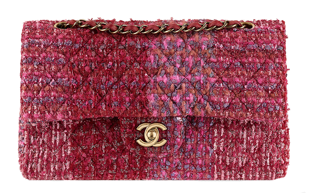 Chanel Tweed Classic Flap Bag