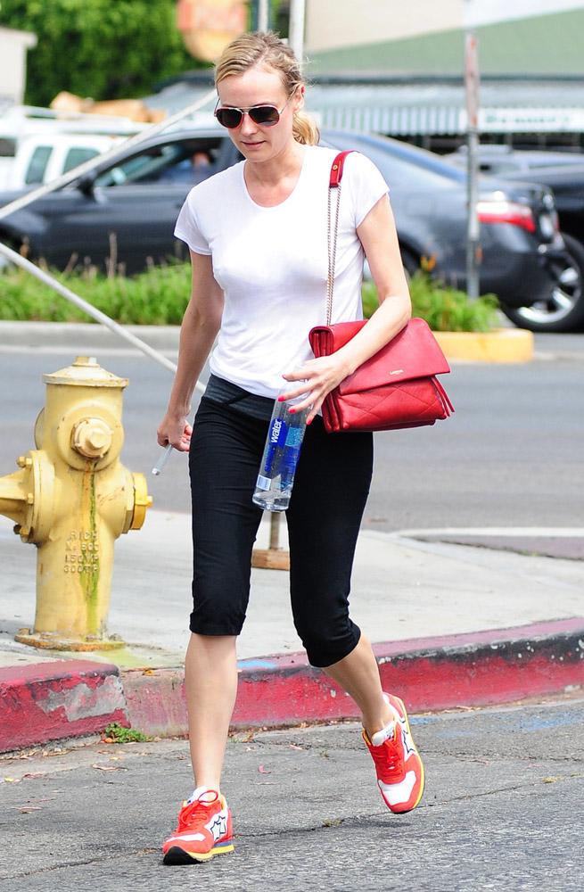 Diane Kruger Lanvin Sugar Shoulder Bag-3