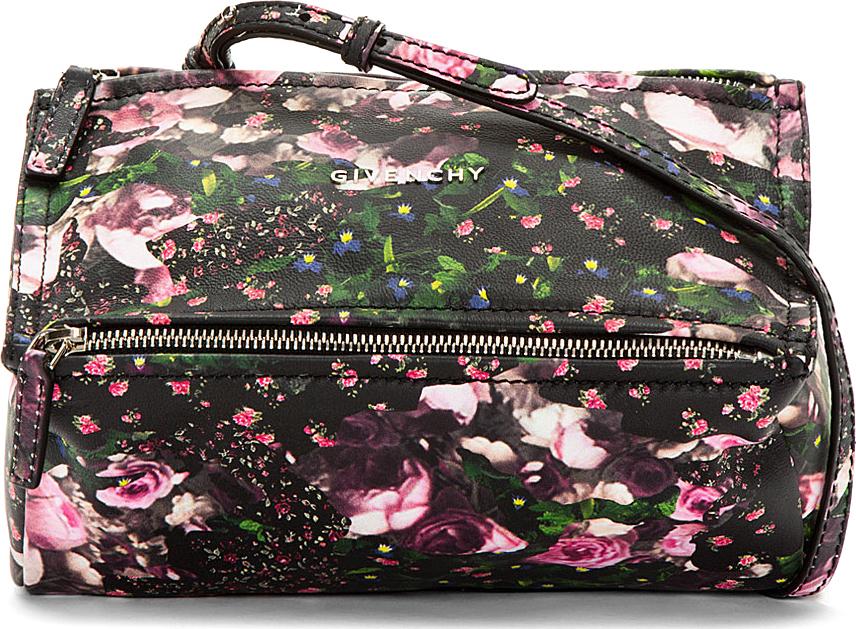 Givenchy Floral Pandora Mini Crossbody Bag