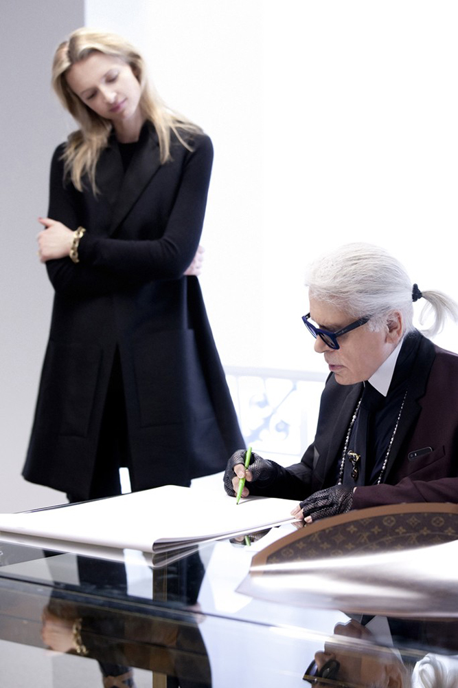 Karl Lagerfeld Louis Vuitton
