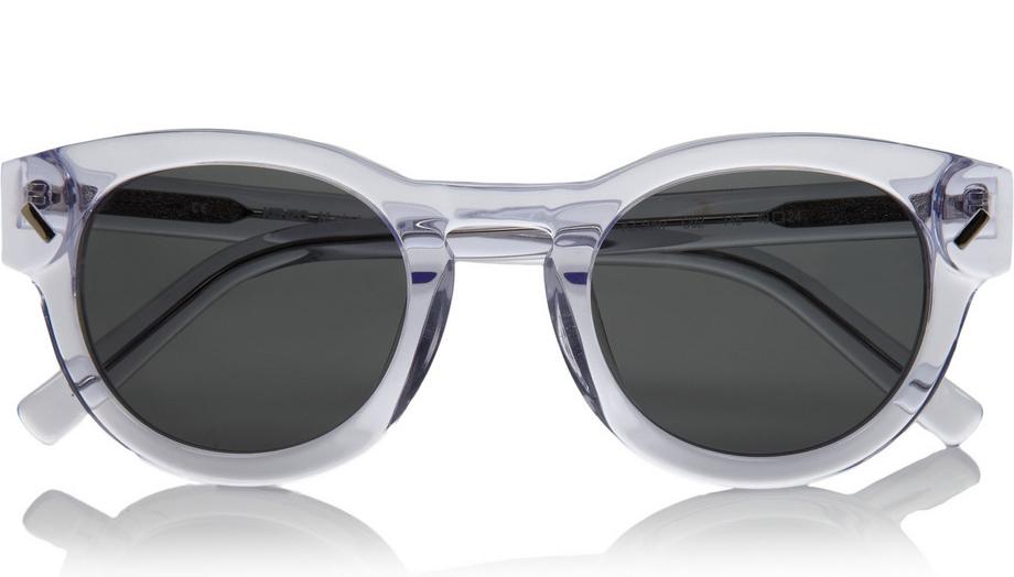 Kenzo Round Frame Acetate Sunglasses