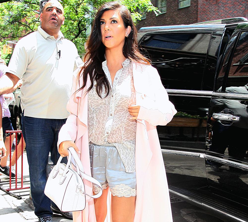 Kourtney Kardashian Givenchy Antigona Mini Bag