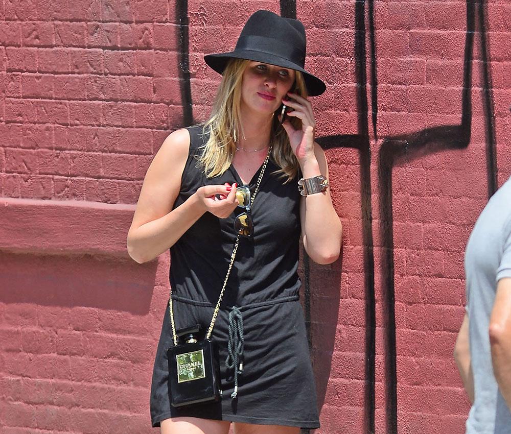 Nicky Hilton Chanel No. 5 Perfume Bottle Clutch
