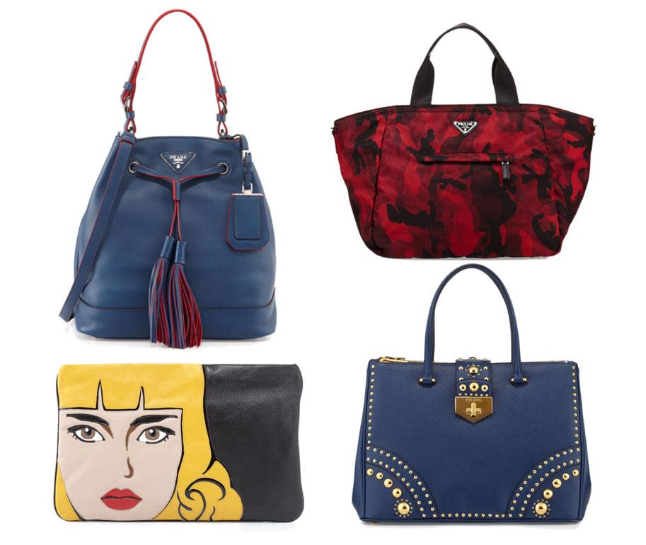 Prada Pre-Fall 2014 Bags