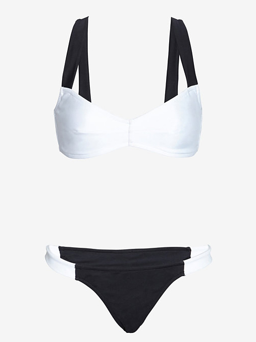 Salinas Bicolor Cross Back Bikini