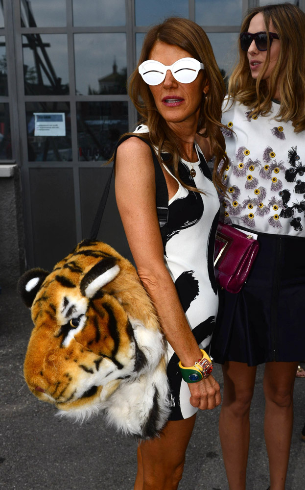 The Many Bags of Anna Dello Russo-43