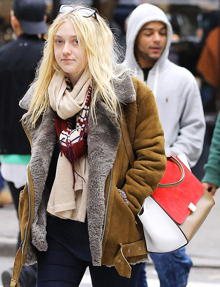 The Many Bags of Dakota and Elle Fanning-11