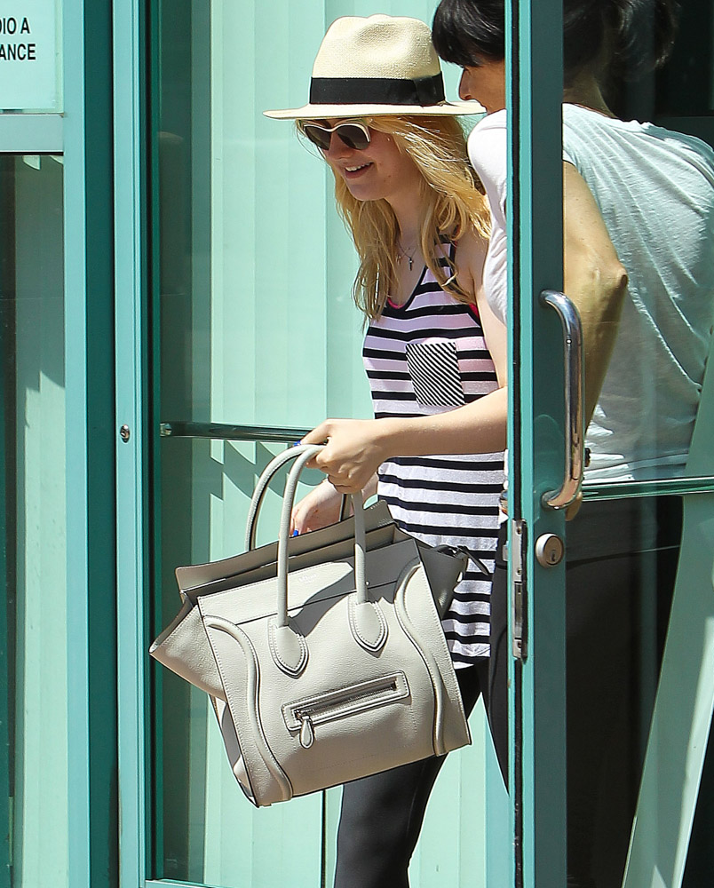 The Many Bags of Dakota and Elle Fanning-13