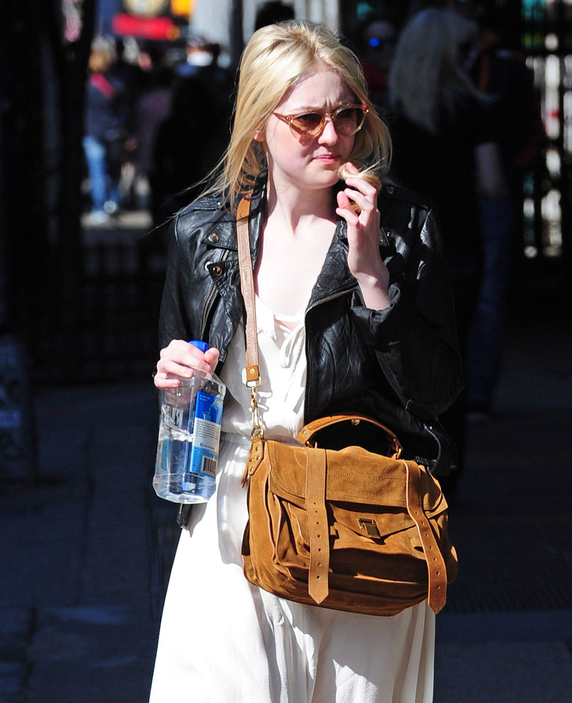 The Many Bags of Dakota and Elle Fanning-14