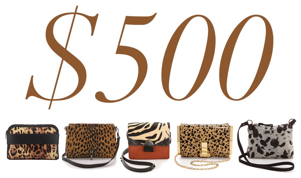 5 Under 500 Animal Print Bags