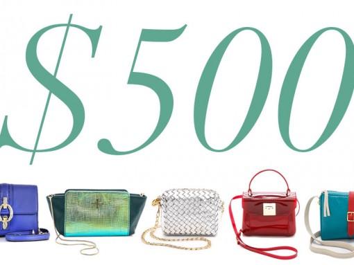 5 Under 500 Micro Mini Bags