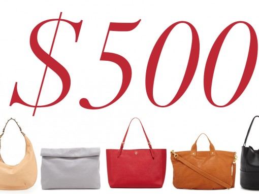 5 Under 500 Streamlined Bags