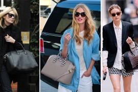 Celebrities and Their Givenchy Antigona Bags: A Retrospective