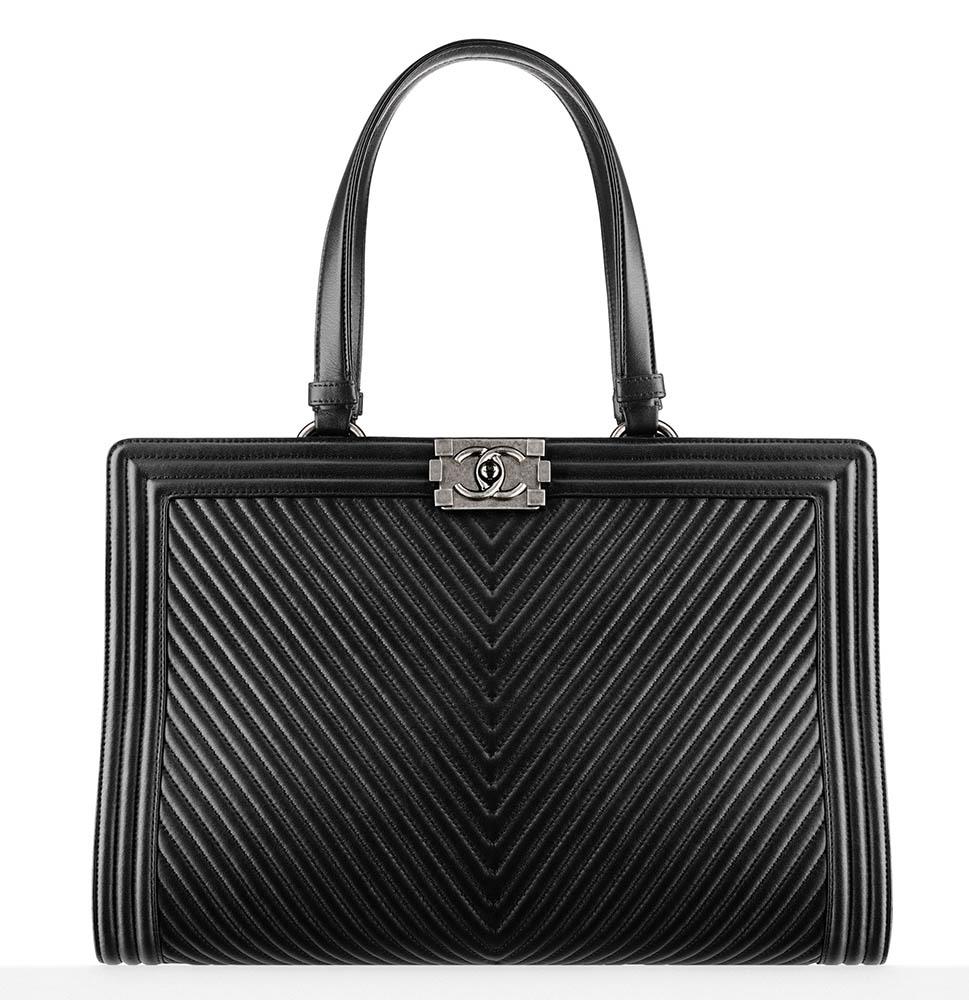 Chanel Boy Shopping Tote 4500