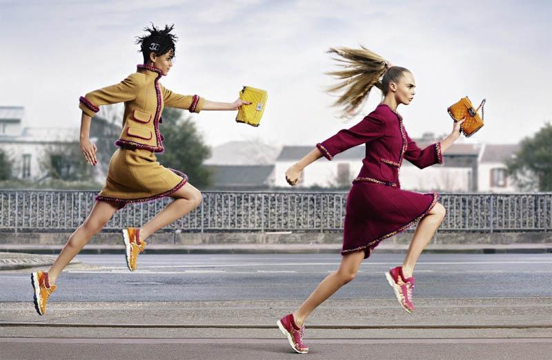 Chanel Fall 2014 Ad Campaign 1