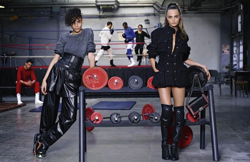 Chanel Fall 2014 Ad Campaign 2