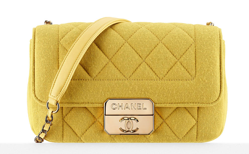 Chanel Jersey Flap Bag 2900