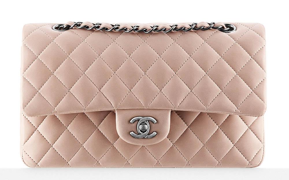 Chanel Lambskin Classic Flap Bag 4900