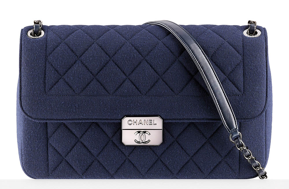 Chanel Large Jersey Flap Bag 3300