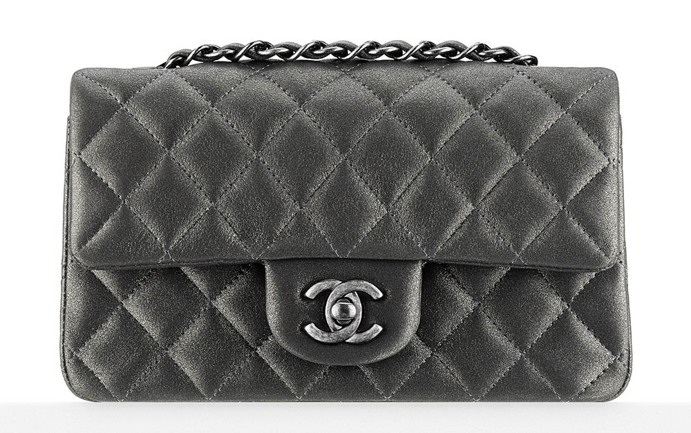 Chanel Metallic Classic Flap Bag 2900