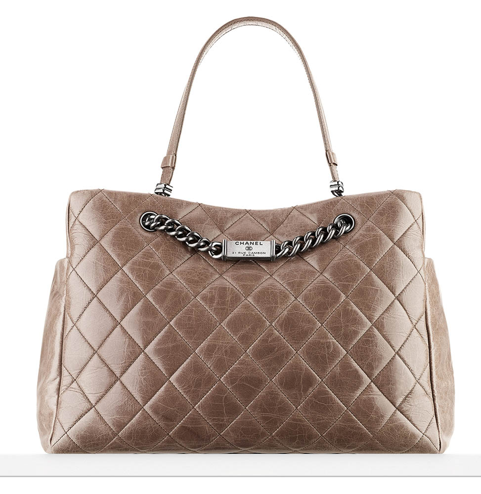 Chanel Nameplate Shopping Tote 3800