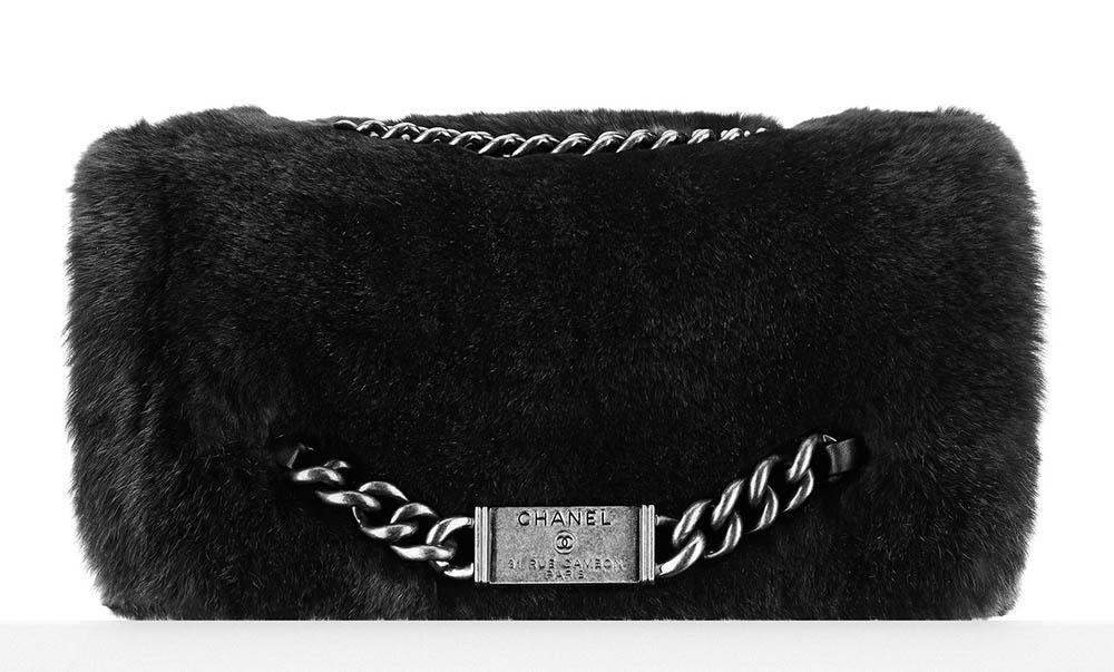 Chanel Orylag Nameplate Flap Bag 6200