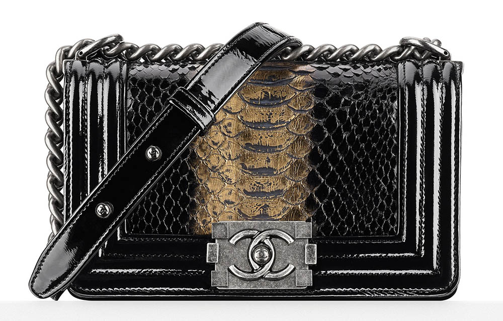 Chanel Python Boy Bag 6700