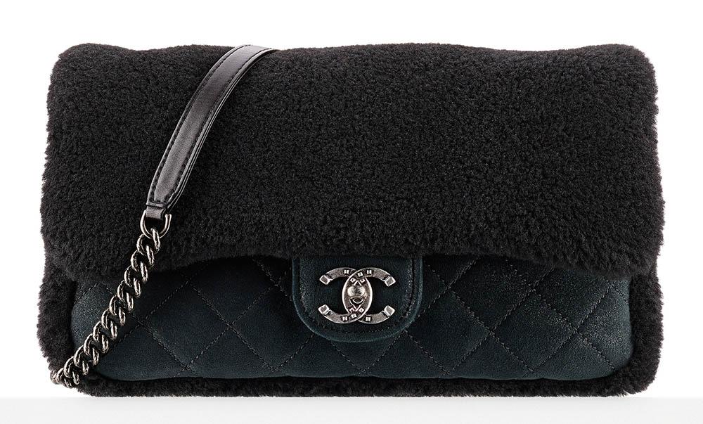 Chanel Shearling Flap Bag 4800